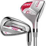 Lady Max 4H, 5H, 6H, 7-PW, SW Combo Iron Set with Graphite Shaft
