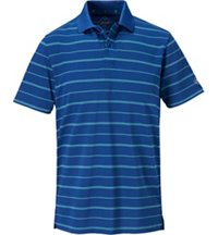 Men's Flatiron Big Stripe Short Sleeve Polo