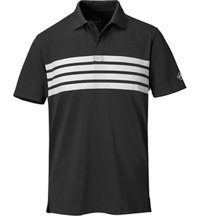 Men's Flatiron Chest Stripe Short Sleeve Polo