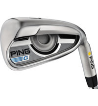 G 4-PW, UW Iron Set With Steel Shafts Plus 1
