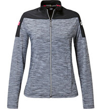 Women's Space Dye Full-Zip Jacket