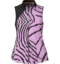 Women's Tiger Fish Crunch Sleeveless Polo