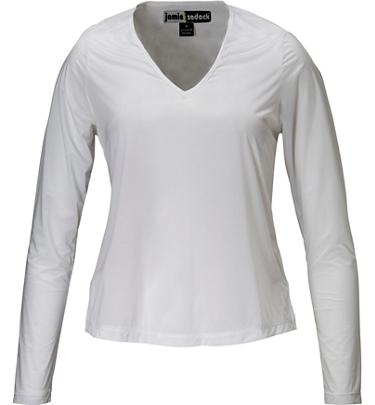 Women 39 s sunsense uv long sleeve golf shirt golf town limited for Uv long sleeve shirt womens