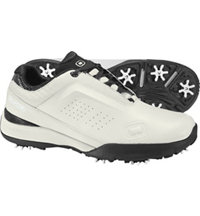 Men's Race Spiked Golf Shoe - White