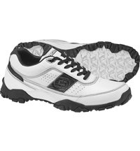 Men's City Turf Spikeless Golf Shoes - White/Black