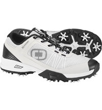 Men's Sport Spiked Golf Shoes - White/Black