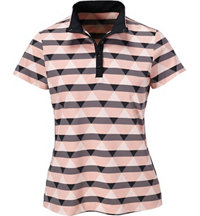Women's Renee Plaid Short Sleeve Mock