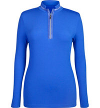 Women's Wilma Quarter-Zip Long Sleeve Mock