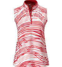 Women's Addie Textured Swirl Polo