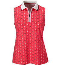 Women's Clarabelle Dot Sleeveless Polo