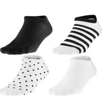 Women's No Show Socks - Six Pack