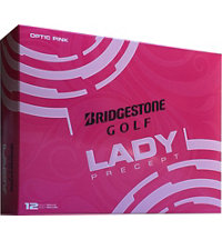 Personalized Lady Precept Pink Golf Balls