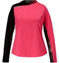 Women's Mesh Long Sleeve Sun Shirt
