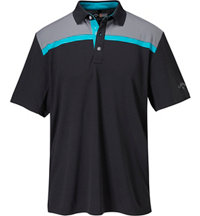 Men's 3 Colorblock Short Sleeve Polo