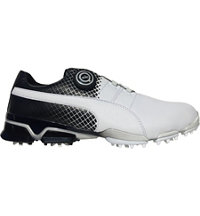 Men's Titantour Ignite Disc Limited Edition Spiked Golf Shoe - Puma White/Puma Black