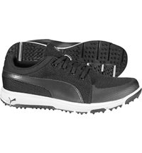 Men's Grip Sport Spiked Golf Shoes - Puma Black/Puma White