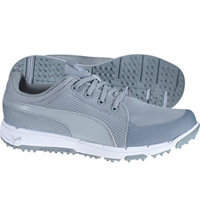 Men's Grip Sport Spiked Golf Shoes - Quarry/Puma White