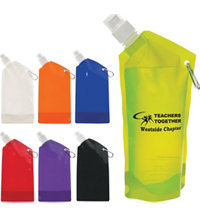 Logo 28oz Collapsible Bottle