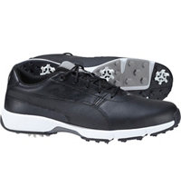 Men's Ignite Drive Spiked Golf Shoes - Puma Black/Puma White