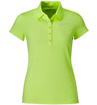 Women's Precision Heathered Short Sleeve Polo