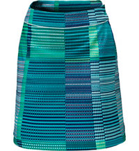 Women's Dot Print Knit Skort