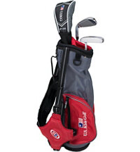 Junior UL39 3 Piece Full Set - Grey/Red