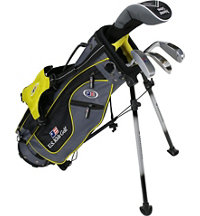 Junior UL42 4 Piece Full Set - Grey/Yellow