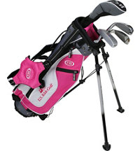 Junior UL45 4 Piece Full Set - Pink/White