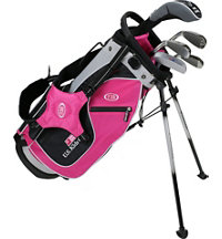 Junior UL48 5 Piece Full Set - Pink/White