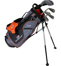 Junior UL51 5 Piece Full Set - Grey/Orange