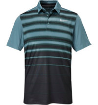 Men's Mobility Fade Stripe Short Sleeve Polo