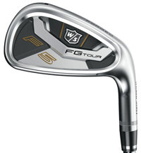 FG Tour F5 4-PW, GW Iron Set with Graphite Shafts