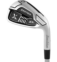 Exotics EX9 4-PW, AW EXD Iron Set with  Steel Shafts