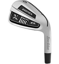 Exotics EX9 4-PW, AW EXI Iron Set with Steel Shafts