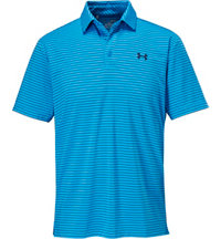 Men's Playoff Solid Stripe Short Sleeve Polo