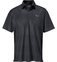 Men's Playoff Tweed Short Sleeve Polo
