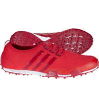 Women's Ballerina Primeknit Spikeless Golf Shoes - Ray Red/Unity Pink