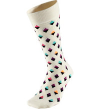 Women's Mini Diamond Crew Socks