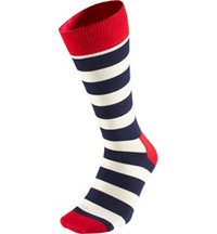 Men's Stripe Crew Socks