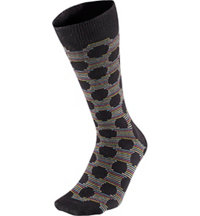 Men's Big Dot Crew Socks
