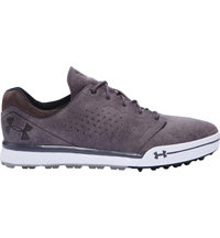 Men's UA Tempo Hybrid Spikeless Golf Shoes - Gravel/Charcoal