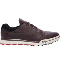 Men's UA Tempo Hybrid Spikeless Golf Shoes - Brown