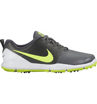 Men's Explorer Spikeless Golf Shoes - Dark Gray/White/Volt