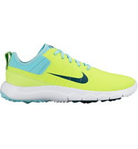 Women's FI Impact 2 Spikeless Golf Shoes - Volt/Teal/Midnight Turquoise