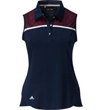 Women's Climacool Star Lace Sleeveless Polo