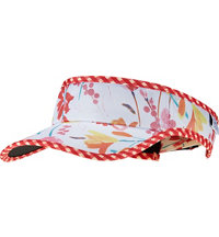 Women's Pull and Loop Poppy Visor