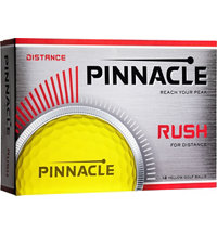 Rush Yellow Golf Balls
