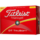 DT Trusoft Yellow Golf Balls