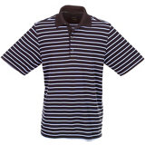Men's Micro Lux Stripe Short Sleeve Polo