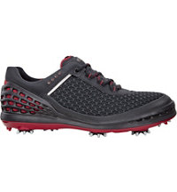 Men's Cage EVO Spiked Golf Shoes - Black/Brick